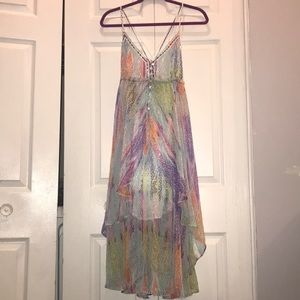 Free People multi color dress size small
